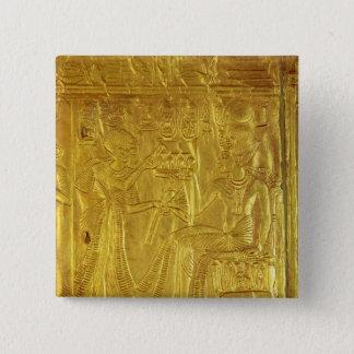 Detail from the Golden Shrine 15 Cm Square Badge