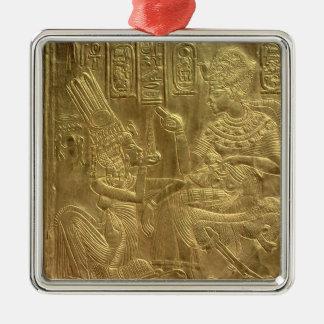 Detail from the Golden Shrine Christmas Ornament