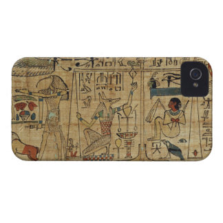 Detail from the papyrus of Nespakashuty, New Kingd iPhone 4 Cases