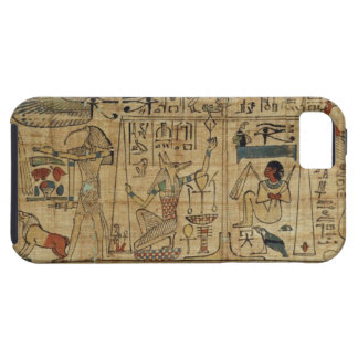 Detail from the papyrus of Nespakashuty, New Kingd iPhone 5 Case