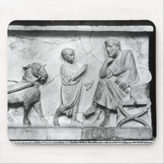 Detail from the sarcophagus of Cornelius Mouse Mat