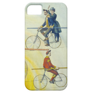 detail from vintage circus poster iPhone 5 cases