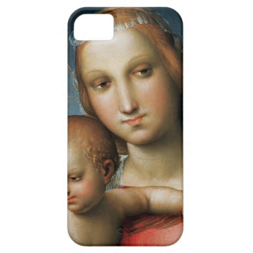 Detail from <Virgin and Child> Attributed to Rapha iPhone 5 Cases
