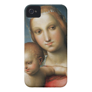 Detail from <Virgin and Child> Attributed to Rapha iPhone 4 Cover