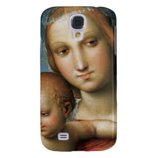 Detail from <Virgin and Child> ributed to Rapha Galaxy S4 Case