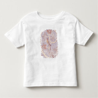 Detail of a bird, from the wall decoration toddler T-Shirt
