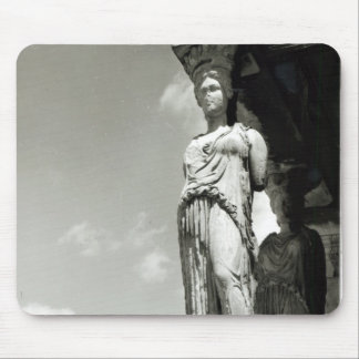 Detail of a caryatid from the Erechtheion Mouse Mat