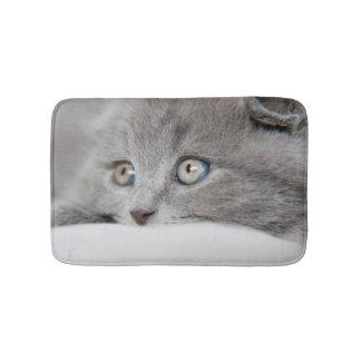 Detail Of A Cat Eyes Bath Mat