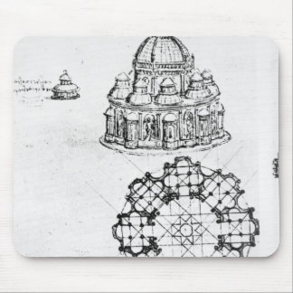 Detail of a Centralised church, c.1488 Mouse Pad