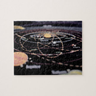 Detail of a Map of the Planets Jigsaw Puzzle