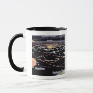 Detail of a Map of the Planets Mug