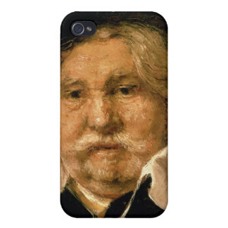 Detail of a Portrait of an old man, 1667 iPhone 4 Case