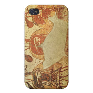 Detail of a red figure krater iPhone 4 cases