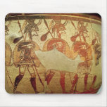 Detail of a red figure krater mouse mat