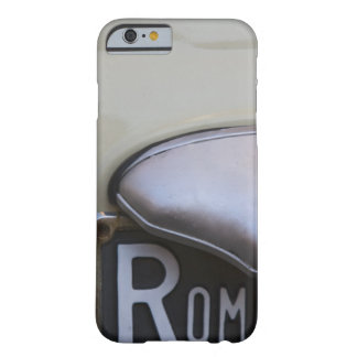 detail of a Roma number plate on a small Italian Barely There iPhone 6 Case