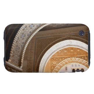 Detail of a series of ornate archways of the Alham iPhone 3 Tough Covers