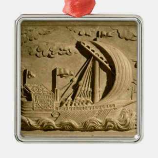 Detail of a Venetian warship Christmas Ornament
