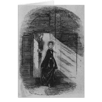 Detail of Amy Dorrit Card