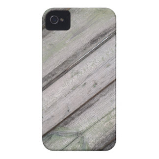 Detail of an old  gray wooden fence iPhone 4 cover
