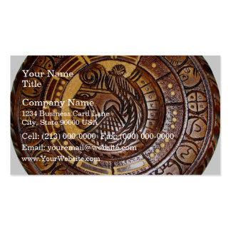 Detail of Ancient Mayan Calendar Pack Of Standard Business Cards