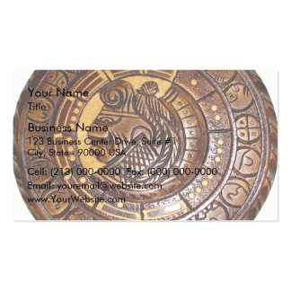 Detail of Ancient Mayan Calendar Pack Of Standard Business Cards