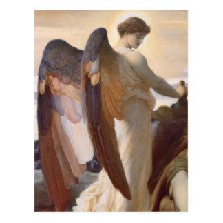 "Detail of Angel, ""Elijah in the Wilderness"" Postcard"