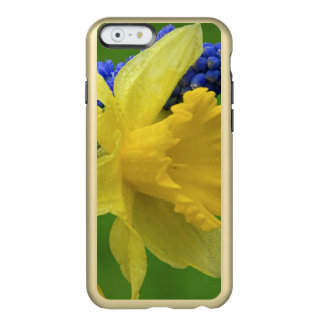 Detail of daffodil and hyacinth flowers. Credit Incipio Feather® Shine iPhone 6 Case