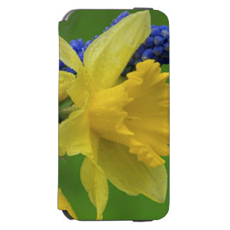Detail of daffodil and hyacinth flowers. Credit Incipio Watson™ iPhone 6 Wallet Case