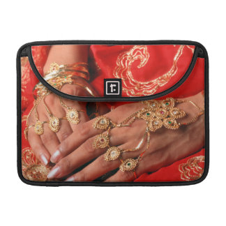 Detail Of Elaborate Jewelry Sleeve For MacBook Pro