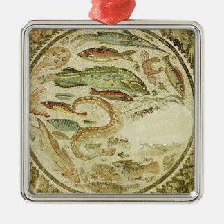 Detail of fish, The Four Seasons, from Vega Baja Christmas Ornament