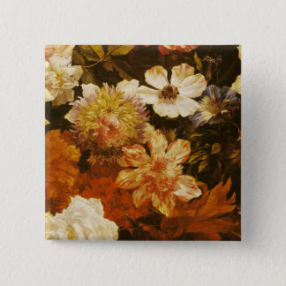 Detail of Flowers 15 Cm Square Badge