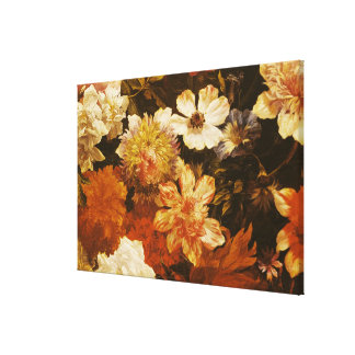 Detail of Flowers Canvas Print