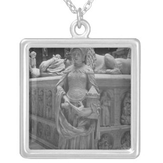 Detail of Fortitude Silver Plated Necklace