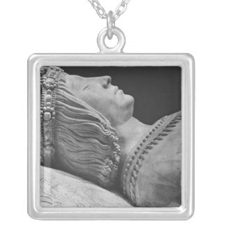 Detail of Francis II Silver Plated Necklace