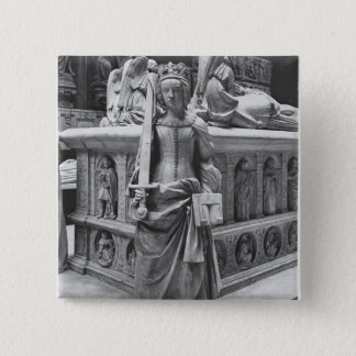 Detail of Justice 15 Cm Square Badge