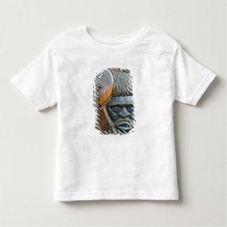 Detail of Kanak totem pole, Noumea, New Toddler T-Shirt