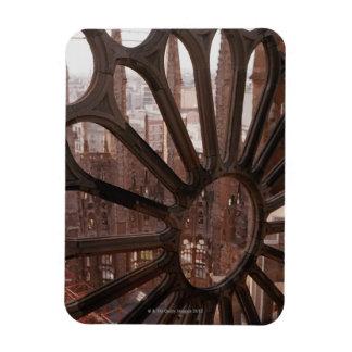 Detail of La Sagrada Familia, Barcelona, Spain Magnet