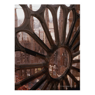 Detail of La Sagrada Familia, Barcelona, Spain Postcard