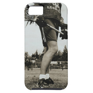 Detail of Lacrosse Athlete iPhone 5 Cases