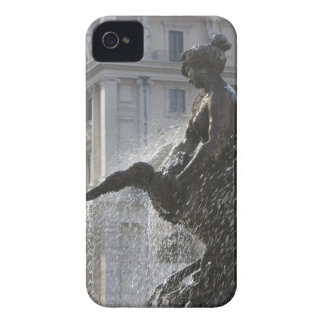 detail of lady and swan on the fountain of the Case-Mate iPhone 4 case