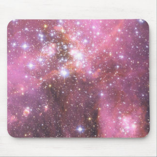 Detail of NGC 346 in Pink Mouse Mat