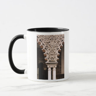 Detail of one of the polylobe arches from mug