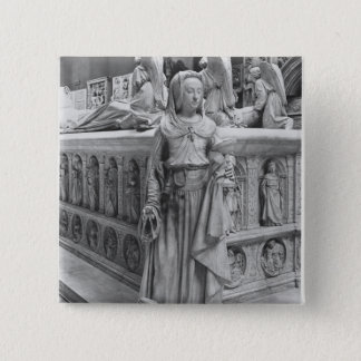 Detail of Prudence 15 Cm Square Badge