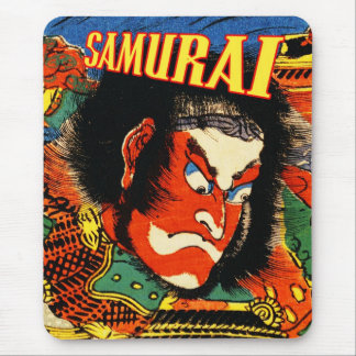 Detail of Samurai Warrior Mouse Pad