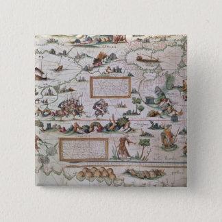 Detail of Siberia 15 Cm Square Badge