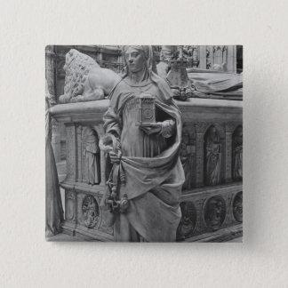 Detail of Temperance 15 Cm Square Badge