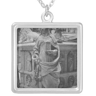 Detail of Temperance Silver Plated Necklace