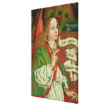 Detail of the Archangel Gabriel Stretched Canvas Prints