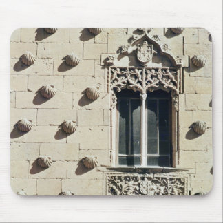 Detail of the exterior of the Casa de la Conchas Mouse Mat