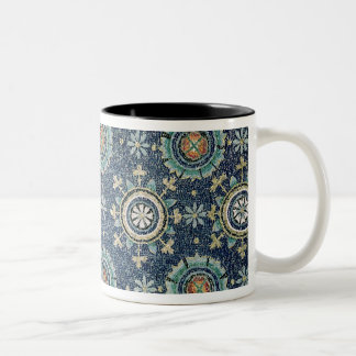 Detail of the floral decoration from the vault Two-Tone coffee mug